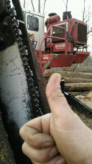 Dallison gives Chain-serts a thumbs up (1)